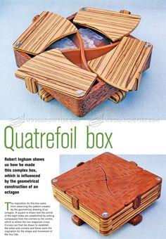 #2860 Complex Box Plans - Woodworking Plans