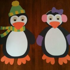 Adorable Christmas Penguin Craft Santa Winter Or