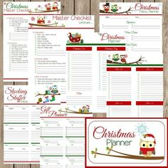 Free Christmas Planner Printables. Still need to get organized this holiday season? Well I have just the thing, a free Christmas Planner just for you!