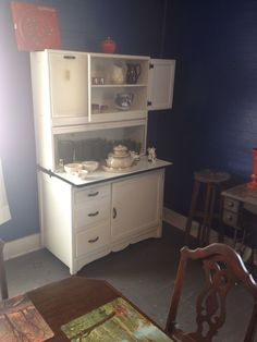 Details About Vintage Early 1900u0027s SELLERS Kitchen Hoosier Cabinet With  Flour Bin, Antique