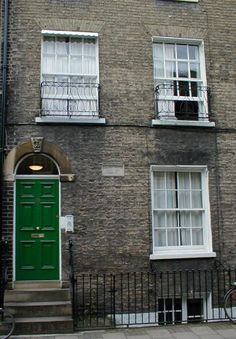 Darwin's house on Fitzwilliam Street, Cambridge, where he briefly lived after returning from the Beagle voyage, 1836 - 1837