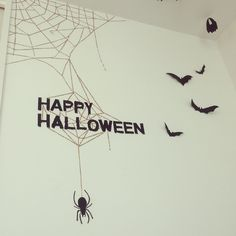 On Walls/ハロウィン/ハロウィンディスプレイ/マスキングテ-プのインテリア実例 - 2015-09-22 04:46:16 | RoomClip (ルームクリップ) Event Decor, Happy Halloween, Party, Handmade, Disney, Room, Bedroom, Hand Made, Parties