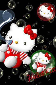 Hello Kitty Cartoon iPhone HD Wallpaper, iPhone HD Wallpaper download iPhone wallpapers