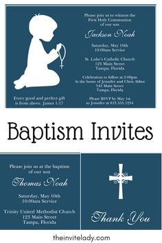 63 Best Baptism Confirmation Communion Invitations Images In