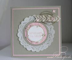 """Stampin' Up! Hochzeitskarte mit """"Der perfekte Tag"""""""