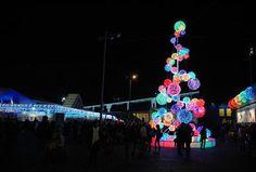 Porto di Roma - MK Illumination Lighting Concepts, Holiday Decor, Christmas Trees, Display, Design, Porto, Rome, Xmas Trees, Floor Space