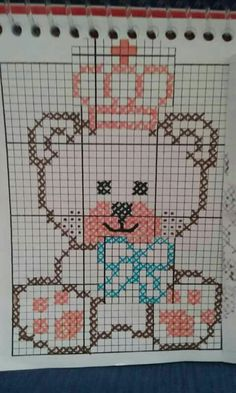 ~ Pin by Hana Krutova on Baby sweaters Cross Stitch Borders, Cross Stitch Baby, Cross Stitching, Cross Stitch Patterns, Bobble Stitch Crochet, Pixel Crochet, Afghan Patterns, Knitting Patterns, Crochet Patterns