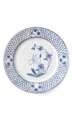 Julia B. M Onogrammable Roma Dinner Plate Set Of 12  2 725b368c0725