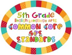 Common core ela galore 1st grade checklist english language arts
