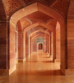The Shah Jahan Mosque