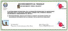 Reconocimientos 2014: Reynier Mariño Distinción Ángel Valiente