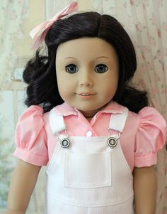 Overalls and Blouse for 18 Inch Dolls by BabiesArtUs on Etsy