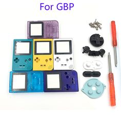 Full Case Cover Housing Shell Replacement for Gameboy Pocket Game Console for GBP Shell Case with Buttons Kit #Affiliate