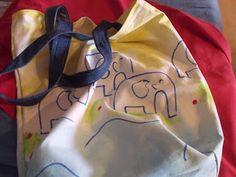 Tante Claras Handarbeitsecke: Elefantentasche
