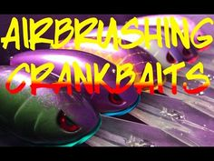 (4) How To Paint a Crankbait: Beginner's Guide - YouTube