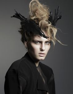 Marique Schimmel for Black Magazine Fall 2012 by Andy Eaton