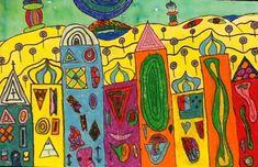 Image result for hundertwasser paintings