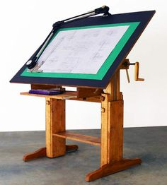 18 awesome wood drafting table images woodworking desk drafting desk rh pinterest com