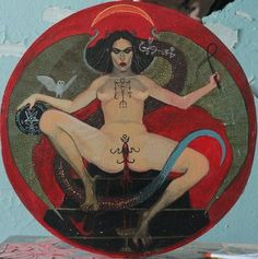 Mythology + Religion: Goddess Lilith Art | #mythologyandreligion #godsandgoddesses #lilith