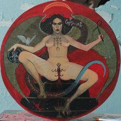 Mythology + Religion: Goddess Lilith Art | #mythologyandreligion #godsandgoddesses #lilith