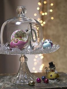 treasured ornament cloche