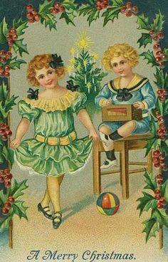 postales navidad vintage 07