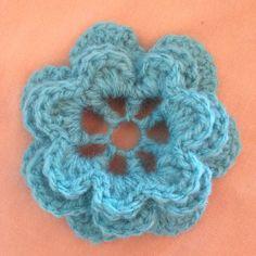 Crochet a Beautiful 3d Flower