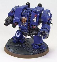 Tale of Painters: Ultramarines: Dreadnought