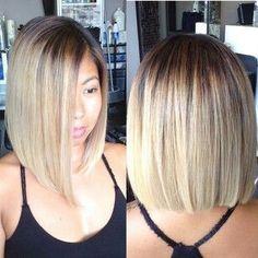 - The HairCut Web Sleek Bob Hairstyles! - The HairCut Web Wavy Bob Hairstyles, Long Bob Haircuts, Pretty Hairstyles, African Hairstyles, Medium Hair Styles, Short Hair Styles, Sleek Bob, Gorgeous Hair, Beautiful