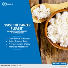 """I don't like Paneer"", said no one ever! For your favourite cheese isn't just high on taste, but also high on numerous health benefits. See for yourself! #HealthTips"