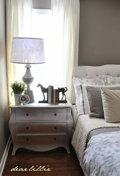 Gray Guest Bedroom and a Full Source List