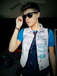 #style #fashion #androgynous