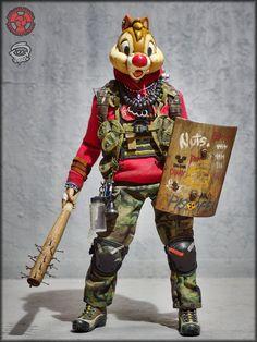 Post Apocalyptic Costume, Post Apocalyptic Art, Apocalypse World, Apocalypse Art, Stranger Things Monster, Apocalypse Character, Deadpool Pikachu, Character Art, Character Design
