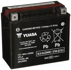 Vrla 12V 50AH by Cable Guy Direct Deep Cycle Yuasa Battery
