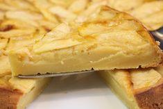 Tarta de manzana fácil - Receta deliciosa - Saltando la dieta