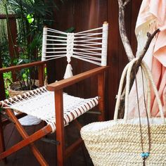 boho director chair - Google Search