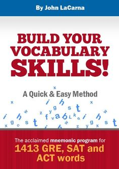 View Build Your Vocabulary Skills! A Quick and Easy Method on Amazon