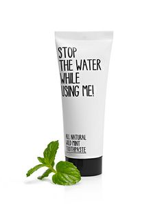 ALL NATURAL WILD MINT TOOTHPASTE. Support products like this, and support The 1:1 Movement, http://www.1to1movement.org/contribute/