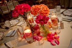 roses, hydrangea, tulips and rose petals  | Coby Neal
