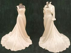 autumn wedding dresses- I love the gown