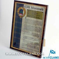 Clan Ferguson Framed