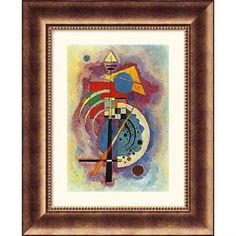 Great American Picture Homage to Grohmann Bronze Framed Photograph - Wassily Kandinsky - 246164-Bron