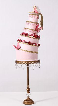 Nadia & Co. Art & Pastry | Cake Design | Rococo Liquid Gold - Contemporary Cakes