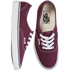 Vans Authentic Shoe ($45) found on Polyvore