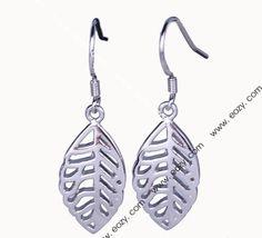 4.7x1.3cm 925 Sterling Silver Charms Dangle Eardrop Hook Earrings