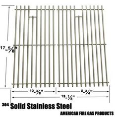Stainless Cooking Grid For Brinkmann Dyna-Glo and Master Forge Gas Grill Models, Set of 2 Grill Parts, Home Depot, Grid, Grilling, Model, Crickets, Scale Model, Models