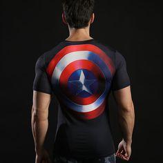 1247722f539bc Camisa de compresión Batman VS Superman 3D impreso camisetas hombres Raglan  Long Sleeve Cosplay traje Fit ropa Fitness Tops hombre en Camisetas de Moda  y ...