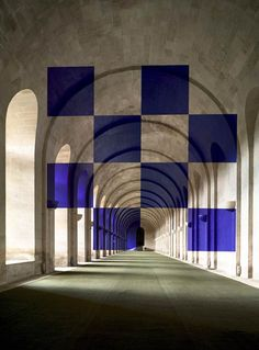 perception [Les Installations en Anamorphose de Felice Varini]