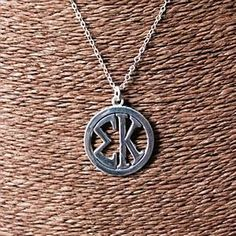 Necklace - Greek Monogram Sigma Kappa