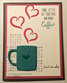 , Stampin' Up! A Nice Cuppa & Balloon Celebration Stamp Sets, Cups & Kettles Framelits Dies